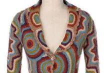 crochet cardigans, vest