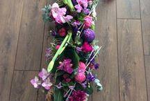 Eigen rouwbloemwerk