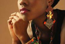 Fashion Accessories / Fashion accessories made from ankara