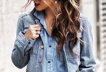 Look Jeans / O jeans é o tecido mais democrático do guarda-roupa. Vai com tudo, desde peças lisas a estampadas, tecidos mais finos e mais casuais, tudo fica lindo e muito bem coordenado.