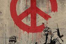 Arte callejero / Grafitis, pintadas, esculturas improvisadas... arte callejero, en suma.