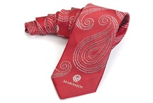 Custom Neckties / Choose between Polyester, Silk, Satin, or Teflon for your custom ties. Feel free to request free samples from previous orders to compare fabric and quality of our products. While most neckties are woven, you can also have them printed. The standard regular custom tie is approximately 57 inches long and 3.75 inches wide. We also offer custom sizes and custom widths. Ties are also available in boys and extra long. Additional charges will apply for extra long ties. #customneckties
