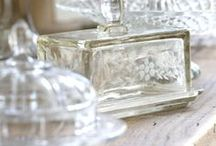 Crystal, Glass and China / by Wendy de Rooy