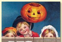 Halloween Cards / Packs of Halloween Cards by Merck Family's Old World Christmas