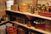 I Want A Root Cellar / Would love to have an underground root cellar to store canned goods, root vegetables and our soon to be bottled cabernet : ) / by Cheryl Forberg - Chef Nutritionist Advisor