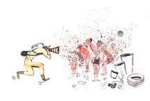 2013 illustrations - Traveler - National Geographic Poland