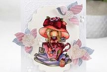 LDRS Creative - Little Darlings stamps - Mes créations faites main/ My handmade creations