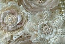 Fabric Flowers and Garlands