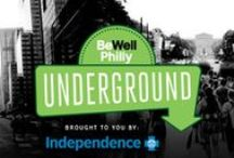 Be Well Philly: Underground / Every month, Be Well Philly hosts secret boot camps, spin classes, happy hours and more.  Sign up for the Underground community & get invited to these exclusive pop-up events.    http://bit.ly/BWPUnderground