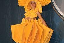paper/origami fashion