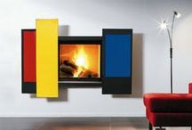 Simonetti Fireplace / The ultimate #collection of contemporary #fireplaces, luxury fireplaces, innovative fireplaces designed by #architects