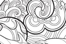Coloring templates - Adults / Colring for adults is now already a trend for a while - but seems to stay. Find here some templates and patters for your pleasure. Print them, color them and show your artwork on Instagram and pinterest. Use #fabercastell to get more visibility.