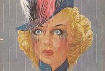 Liberty Magazine / Ads and illustrations from vintage Liberty Magazines