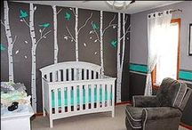 Nursery Inspiration / Decorating the space you're sweet baby will lay their head is such a fun part of pregnancy.  We've collected inspiration from some of the nurseries we think you'll love.