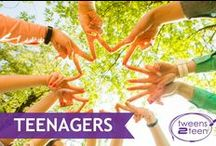 Teenagers | Tweens2teen / Everything you ever needed to know to survive life with teens and tweens! parenting - tween - teen