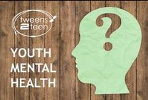 Youth Mental Health   Tweens2teen / The teenage years are when many mental health issues start to show, or start to develop. There are lots of simple things we can do to minimise the impact of mental health issues for teens and tweens, but it's also an important time to recognise the signs and get them some help. teen - tween - child mental health