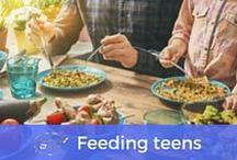 Feeding Teens | Tweens2teen / I'm always looking for new inspiration to feed my tribe of teenagers - whether it's breakfast on the weekends, school lunches, quick fire dinners or those never-ending snacks they're on the hunt for.