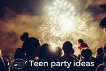Teen Party Ideas | Tweens2teen / I'm hopeless at organising parties for my teens, but I always wish I had more of an idea what to do for them before the day arrives. Here's a collection of ideas that appeal to me!