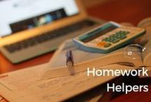 Homework Helpers | Tweens2teen / If you're struggling to work out how to help your kids with their homework, here's some great ideas and resources.