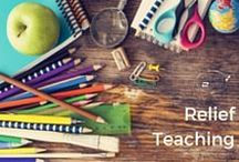 Relief Teaching | Tweens2teen / Tips and ideas for all those days I work as a primary school relief teacher.