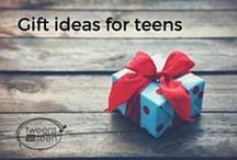 Gift Ideas | Tweens2teen / I'm always struggling to think of meaningful ideas for gifts at Christmas and birthdays. Whether it's for my own kids, our relatives or for them to give to their friends.