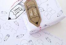 """Freebies - Schulanfang / Stundenpläne, Etiketten, Geschenkpapier, Einschulungsgirlanden - eine kleine Sammlung zum Thema """"Back To School"""""""