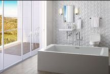The Master Bath | Suite Relaxation / Explore the Magnificent Master Bath. The most intimate room in your house, create a space you'll love. Bathe in luxurious finishes, experience state-of-the-art spa-grade showering systems & surround yourself in beautiful decor. / by Studio41 Home Design Showroom