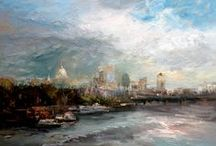 Lynda Minter - Thames Landscapes  / A preview of our forthcoming special exhibition open 7 September - 10 November 2013 in the Kirkham Gallery