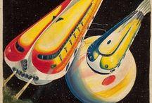 Sci Fi Pulp / by Gerald Schroeder