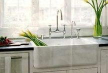 Kitchen Sinks + Faucets / Inspiration For Your Kitchen: Sinks + Faucets | ShopStudio41.com / by Studio41 Home Design Showroom