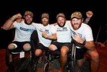 Row 2 Recovery / The incredible story of the Row 2 Recovery team.  4 men, 5 legs, 3000 miles, 48 days at sea, one capsize and several flying fish. An extraordinary triumph of determination and strength. #beyondinjury