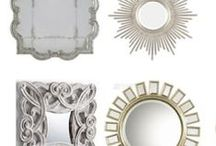 Home: Mirrors / #Home #Style #Decorating #Interior #Finishes #Art #Mirrors #Ideas