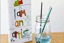Kids Art! / Simple Art ideas for kids to make!