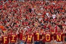 trojan pride / because we can never get enough cardinal and gold