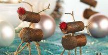 Weihnachten / Hier findest Bastelideen und Rezepte für Kinder und Familien rum um das Weihnachtsfest!