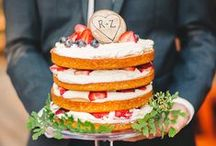 naked cakes / A delicious wedding trend for 2016: naked cakes!