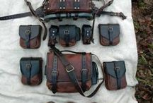 Adventurer's Gear / Here I collect all the stuff that you can see on a typical fantasy advenurer - belt pouches, bags, backpacks, armor, clothes and so one.