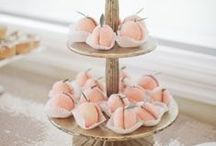 Peach wedding / Peach wedding  inspiration and ideas