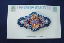 Beadwork / Beads and beads and what you can do with them. Imagination is the key to beads.  / by Thea Whirlwindhorse