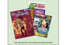 Le Hit Parade du CDI / Quels ouvrages sont les plus empruntés au CDI ? Ici, vous trouverez vos livres préférés !