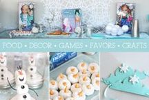 Frozen viewing party (Crafts) / by Kimberly Holliman