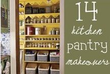 Pantry Storage Ideas / Pantry organization makes cooking and cleaning so much easier. Sharing the best ideas for organization and storage.
