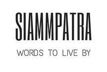SIAMMPATRA - WORDS TO LIVE BY / A girl should be beautiful from inside and out: This board inspires all great vibes and words to live by