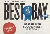 Best of the Bay 2014 / We are so happy to win 2 Best of the Bay awards this year! We couldn't be more grateful for our customers who have supported us in the last 20 years.