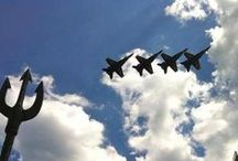 #OceanaAirShow / 2014 NAS Oceana Air Show | Sept. 20-21, 2014 | The best Air Show in the country showcasing the Navy's Flight Demonstration Team, the Blue Angels. Free entry, free parking, and family fun!  / by Virginia Beach | Live the Life