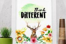 Printable Wall Art / #quotes #christmas #WallArt #Printable  Printable Art Product of Rahardi Creative