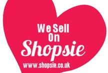 Shopsie UK Sellers Products / Our shop sellers are awesome! In this board you can see what they are selling and buy it direct from the links in the boards :)  / by Shopsie UK