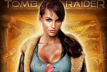 Lara Croft / Game heroine.