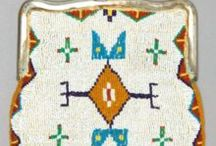 Beaded Purse and Tipi bags / Beadwork