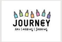 JOURNEY ART | MAKING | SHARING / Branding Design for Journey, Art | Making | Sharing